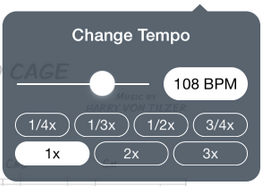 Changing the Tempo – Support Home