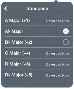 Transpose Your Sheet Music – Support Home